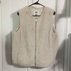 Old Navy Fur Vest